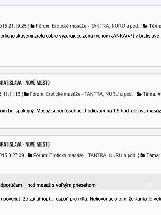 NajProfiMassage, Bratislava - Nové Mesto, 50 rokov